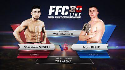Shkodran Veseli is to lock horns with Ivan Bilić in FFC 30 kickboxing main event